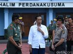 Presiden Jokowi Lantik 728 Capaja Akademi TNI dan Polri