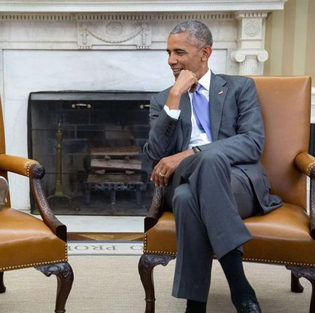 Kenangan Manis Saat-saat Terakhir Obama Presiden
