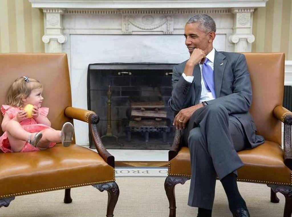 Kenangan Manis Obama Saat Masih Jadi Presiden