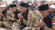 Haru Perayaan Idul Fitri Pasukan Perdamaian RI di Sudan