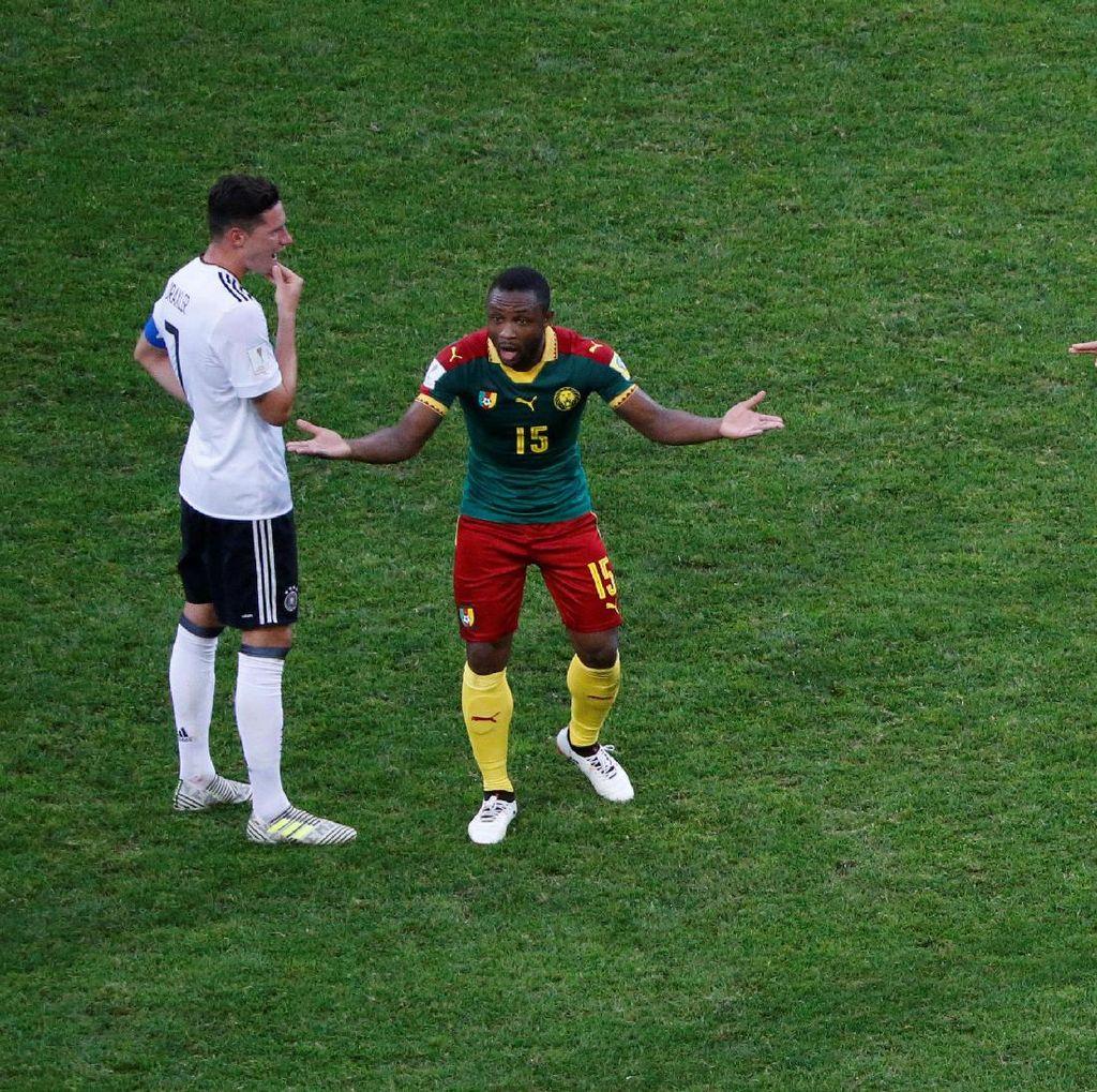 Ups, Wasit Ini Salah Beri Kartu Merah di Laga Jerman-Kamerun