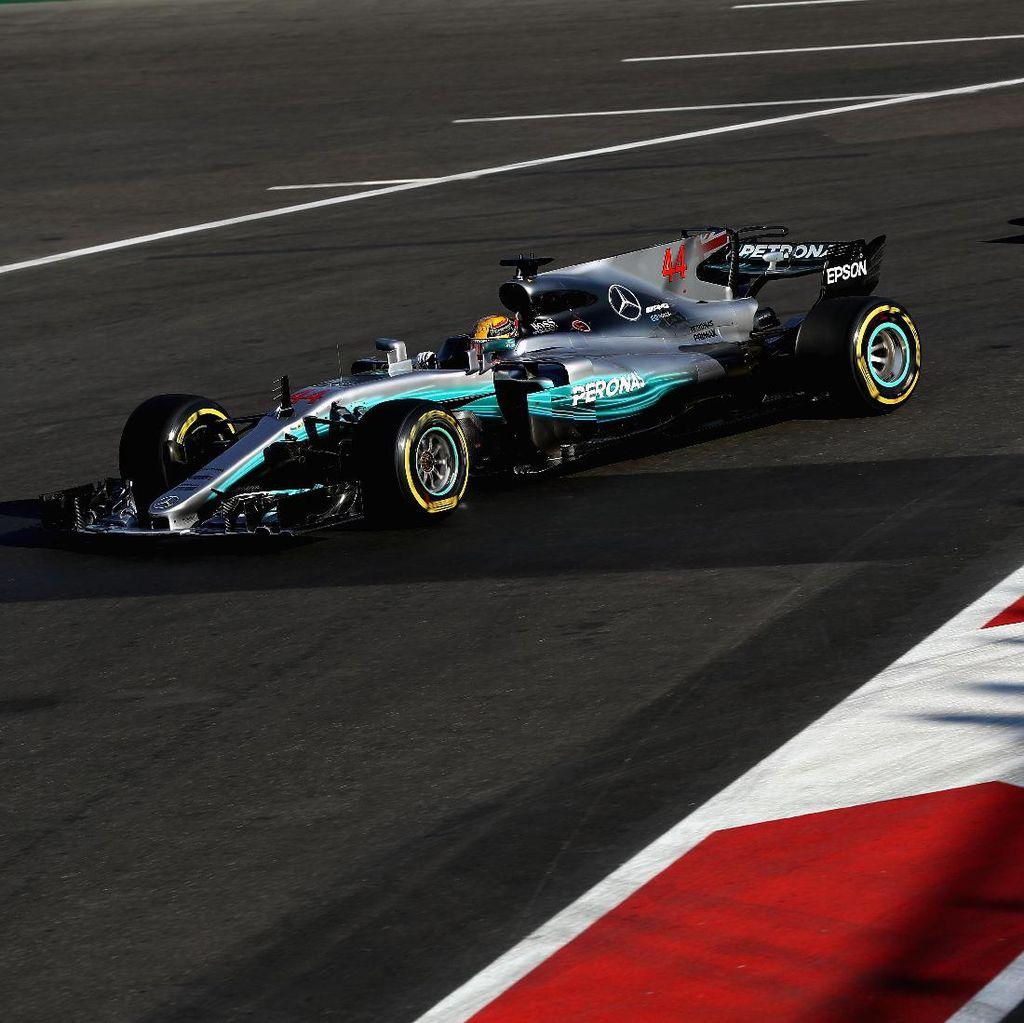 Hamilton Sebut Aksi Seruduk Vettel Memalukan