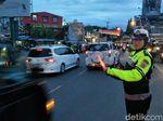 Puncak Arah Jakarta Padat, Sistem One Way Masih Diberlakukan