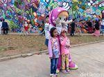 Lebaran di RPTRA Kalijodo, Ini Tempat yang Instagramable untuk Foto