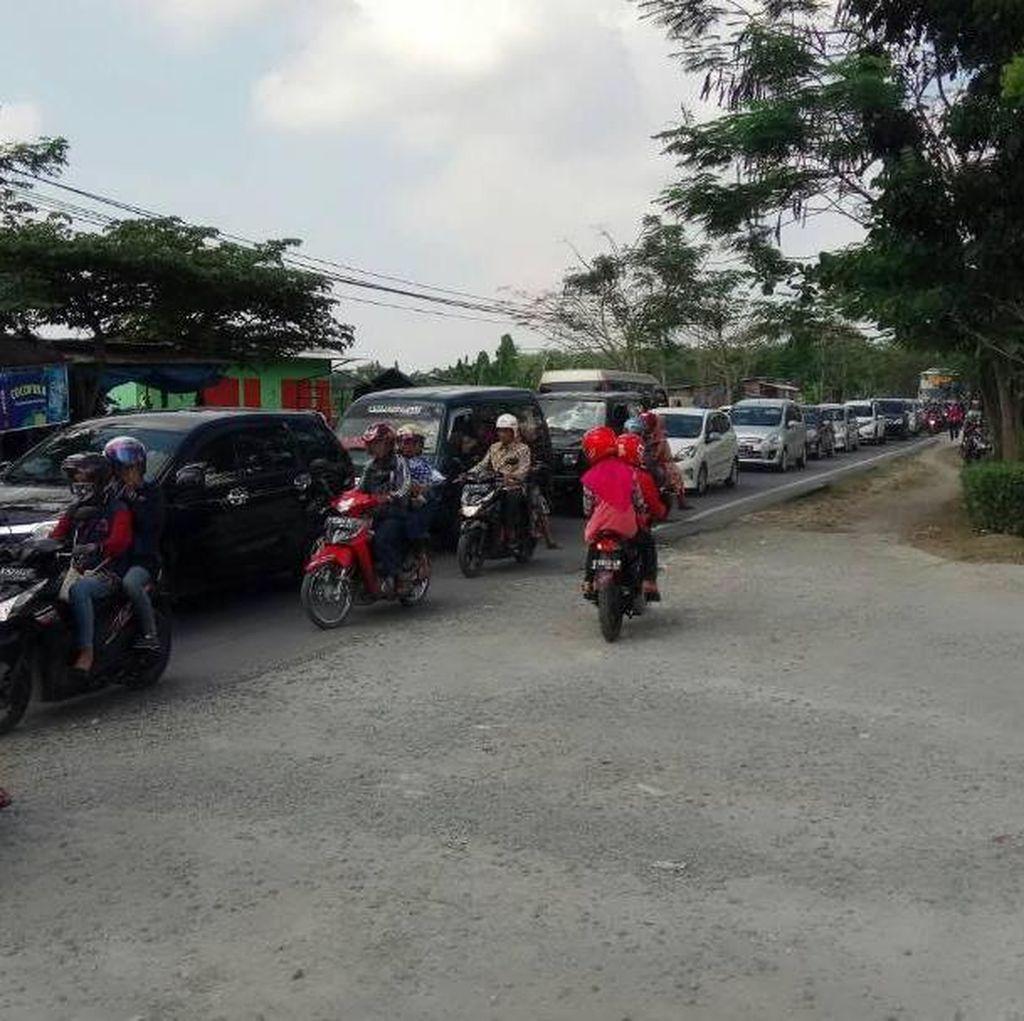 Horor di Jalur Babat ke Bojonegoro, Kendaraan Melaju 5 Km/Jam