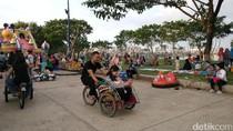 Menikmati Petang di Taman Waduk Pluit yang Kian Ciamik