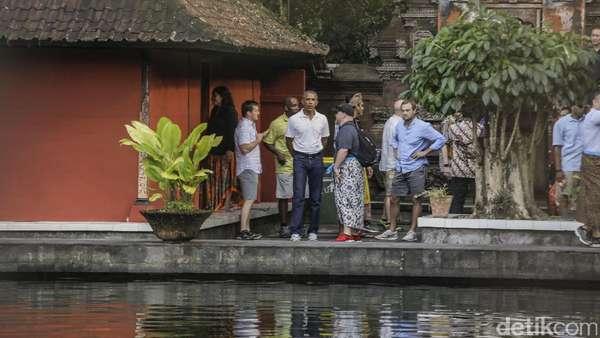 Tak Ada Penutupan Tempat Wisata yang Dikunjungi Obama di Yogya