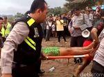 Dua Wisatawan Terseret Ombak Pantai Citepus, Satu Tewas