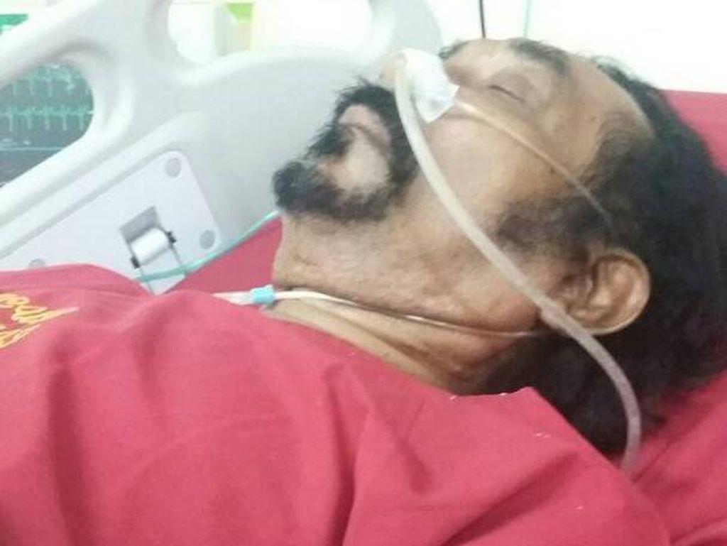 Hamdan ATT Alami Serangan Jantung, Raffi Ahmad Nyekar ke Makam Olga