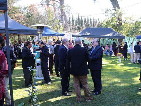 Suasana open house di Canberra