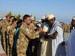 Pasukan Garuda Rayakan Hari Kemenangan di Daerah Misi Lebanon
