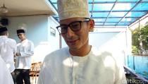 Hadiri Open House SBY, Sandiaga Ungkap Obrolan dengan Agus