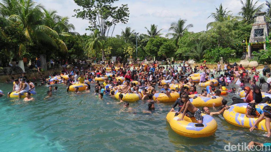 Libur Lebaran, Ancol Diserbu 100.125 Pengunjung