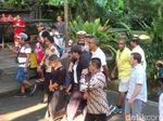 Obama Kunjungi Pura Tirta Empul di Gianyar Selama 30 Menit