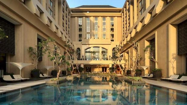 The Tentrem Pool (Hotel Tentrem Yogyakarta)