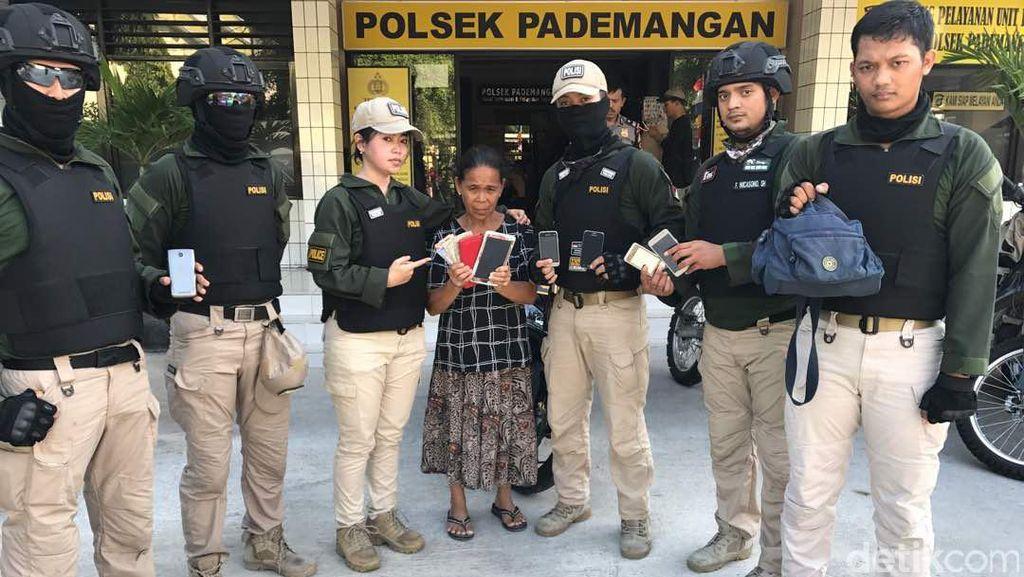 Curi Uang dan HP di Ancol, Seorang Nenek Ditangkap Polisi