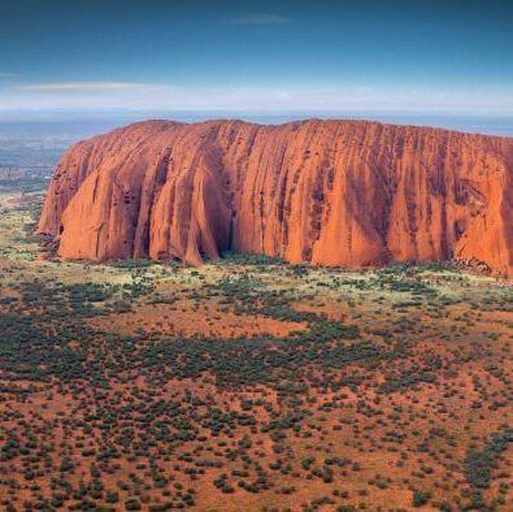 Sejarah Terbentuknya Uluru