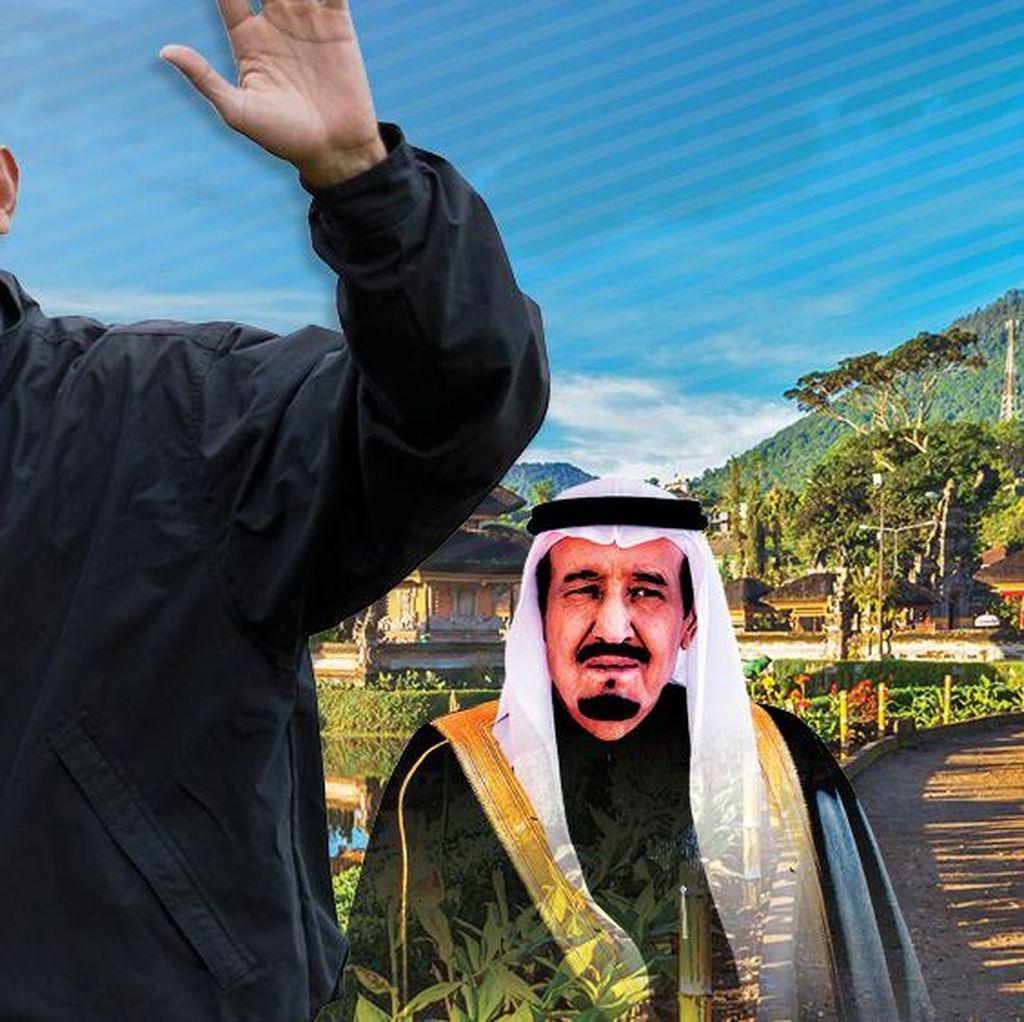 Obama Simpel, Raja Salman Glamor
