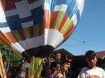 Sekadar Tradisi, Warga Purbalingga Tak Paham Bahaya Balon Udara