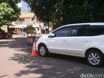 Kata Polisi soal Mobil yang Ditinggal di Tengah Jalan Depan Kemenkes