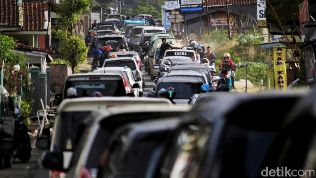 Musim Libur, Perjalanan dari Soreang ke Ciwidey Butuh 3 Jam
