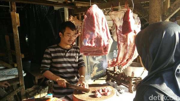 Harga Daging Sapi Turun ke Rp 120.000/Kg