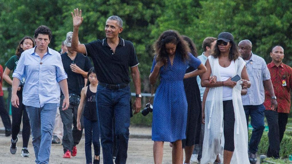 Doyan Kuliner, Salah Satu Kunci Sehat Obama?