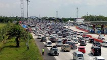 Arus Balik Tol Palimanan Arah Jakarta Mulai Meningkat