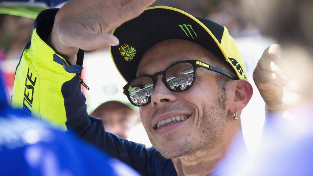 Rossi Paling Diidolakan Anak-Anak Italia, Kalahkan Buffon dan Totti