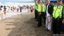 Libur Lebaran, 28 Wisatawan Terseret Ombak di Pantai Palabuhanratu
