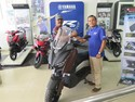 Pemilik Pertama Yamaha XMAX di Sumatera