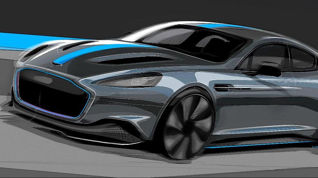 Mobil Listrik Pertama Aston Martin Diproduksi 2019