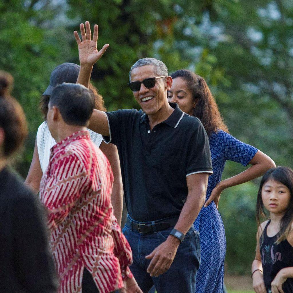Saat Obama Terkejut Dengar Mitos Stupa Kuntobimo di Borobudur