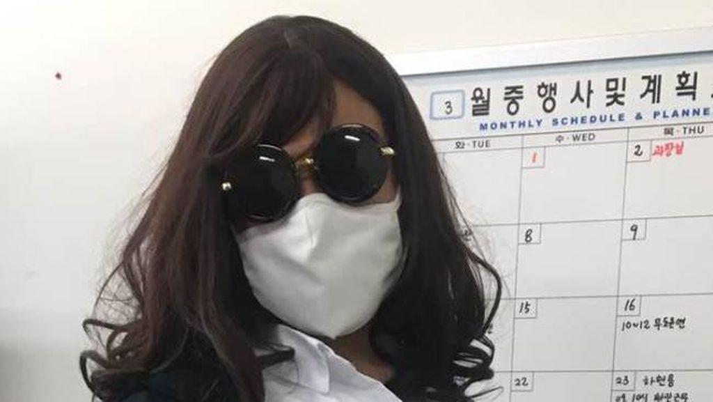 Wow, Polisi Korea Nyamar Jadi Wanita Demi Tangkap Kriminalis Narkoba