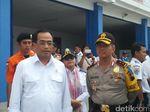 Menhub Lepas Mudik Gratis Pemotor Dari Pelabuhan Tanjung Emas
