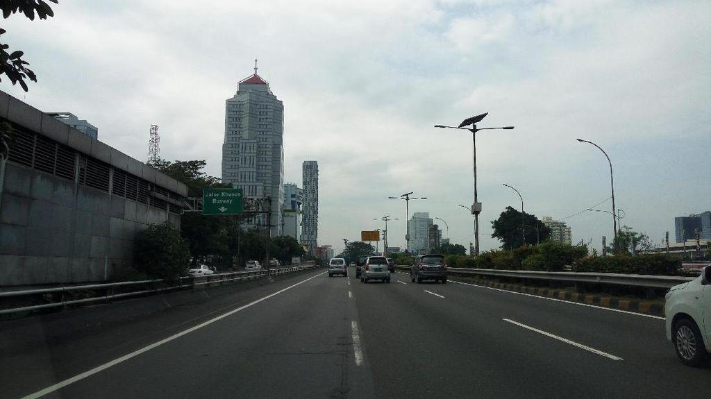 Libur Idul Adha, Tol di Jakarta Lancar Jaya