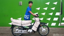259 Motor Peserta Mudik Gratis Tiba di Jakarta