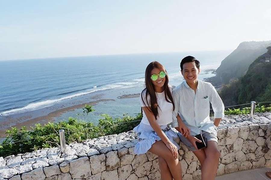 Mengintip Gaya Pacaran Aurel Hermansyah di Bali
