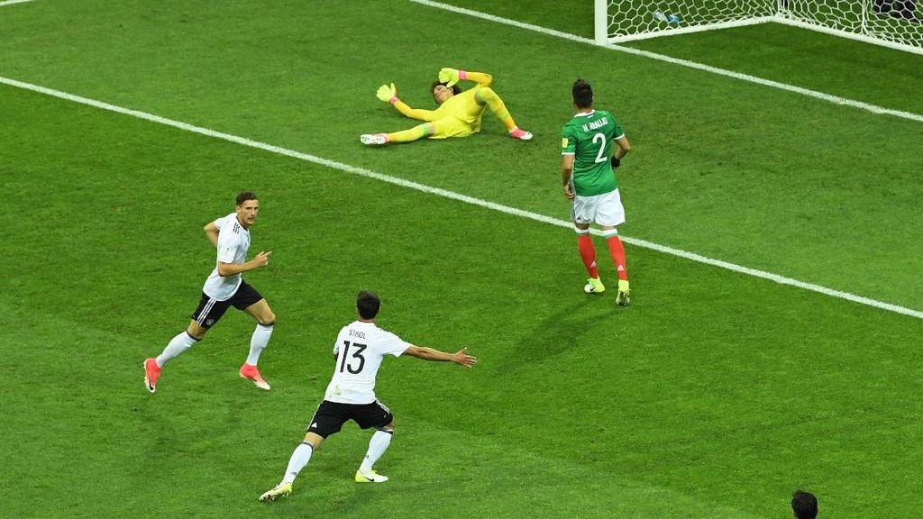 Menang 4-1 atas Meksiko, Jerman Tantang Chile di Final