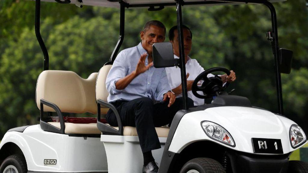 Jokowi Setiri Obama di Istana Bogor