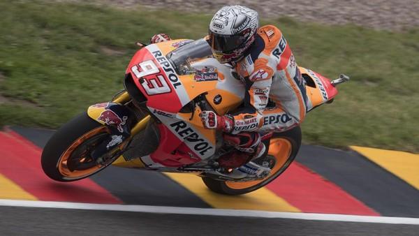 Marquez: Honda Tampil Oke di Lintasan Kering atau Basah