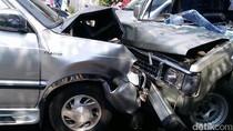 Kijang Kontra Chevrolet di Kudus, Satu Korban Luka Parah