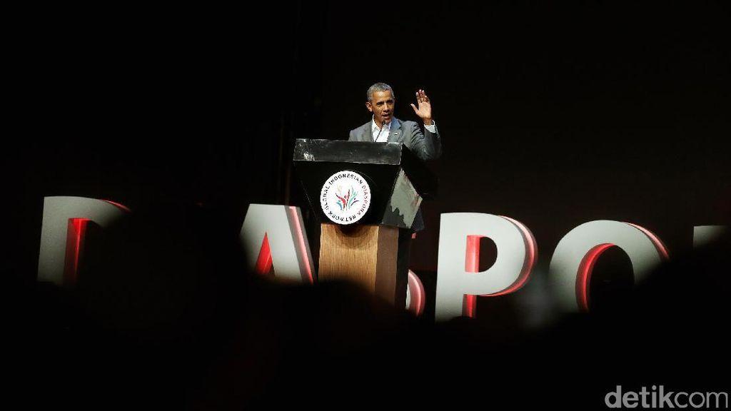 Kata Obama soal Jokowi: Selalu Tenang dan Berintegritas