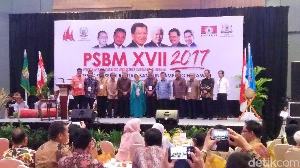 Wapres JK Hadiri Pertemuan Saudagar Bugis-Makassar