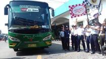 53 Bus Gratis Kemenhub Berangkatkan Pemudik dari Solo ke Jakarta
