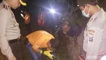 Pengemudi Mobilio Berhasil Dievakuasi dari Hutan, Polisi Olah TKP