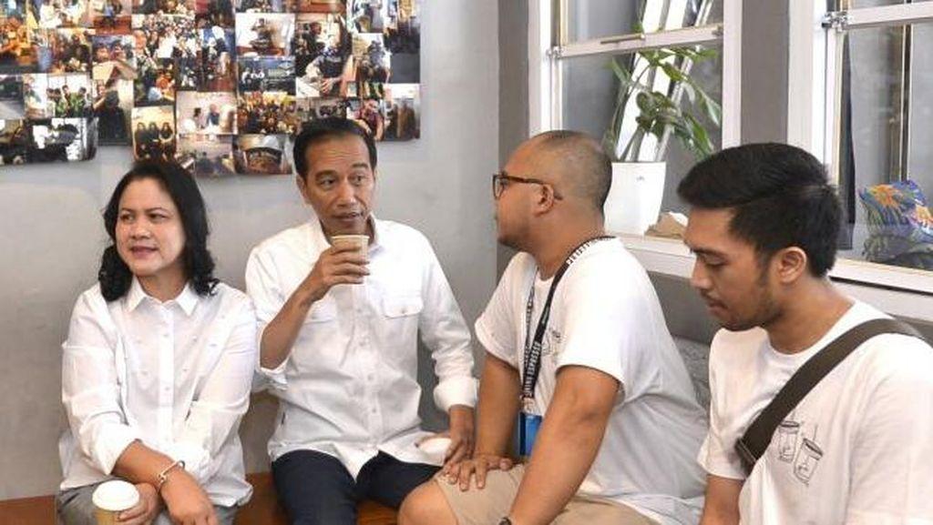 Cerita Barista Kopi Susu Tetangga untuk Jokowi Sekeluarga