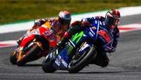 Salip Menyalip Vinales-Marquez di Kualifikasi yang Berujung Senggolan