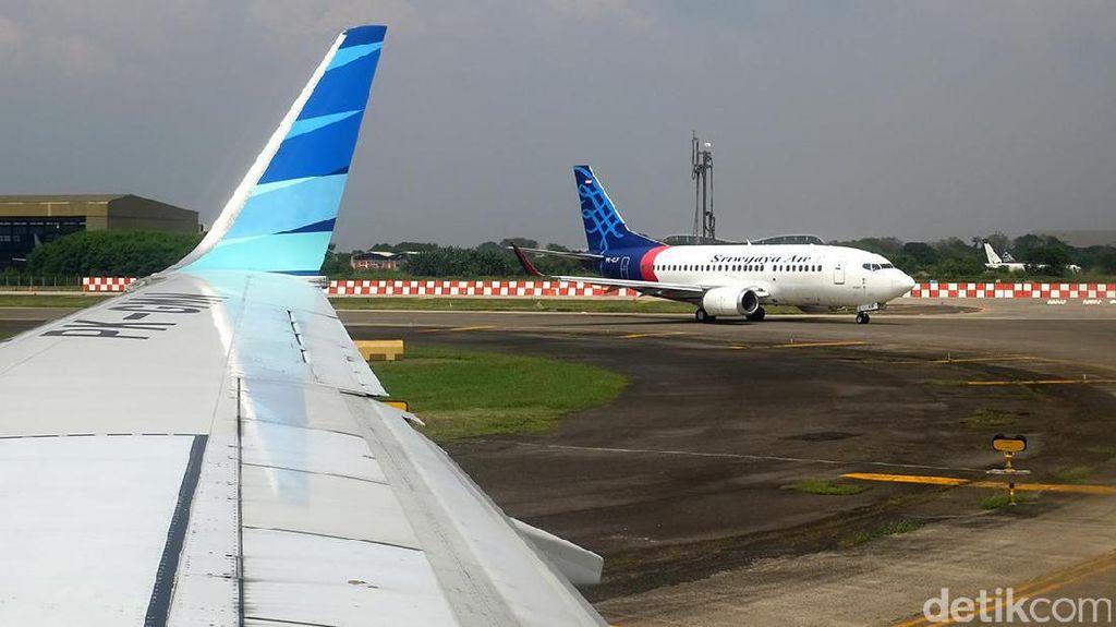 Pesawat Sriwijaya ke Makassar Batal Terbang, Penumpang Mengamuk