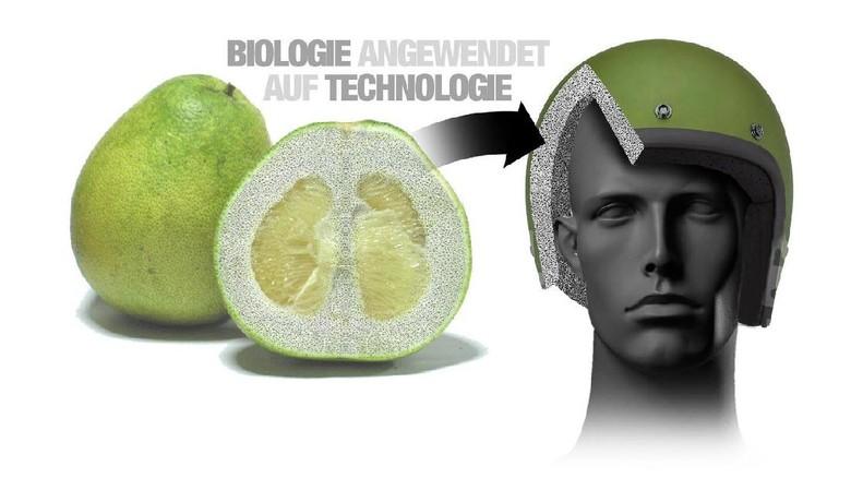 BMW Terinspirasi Buah Pomelo dalam Membuat Helm